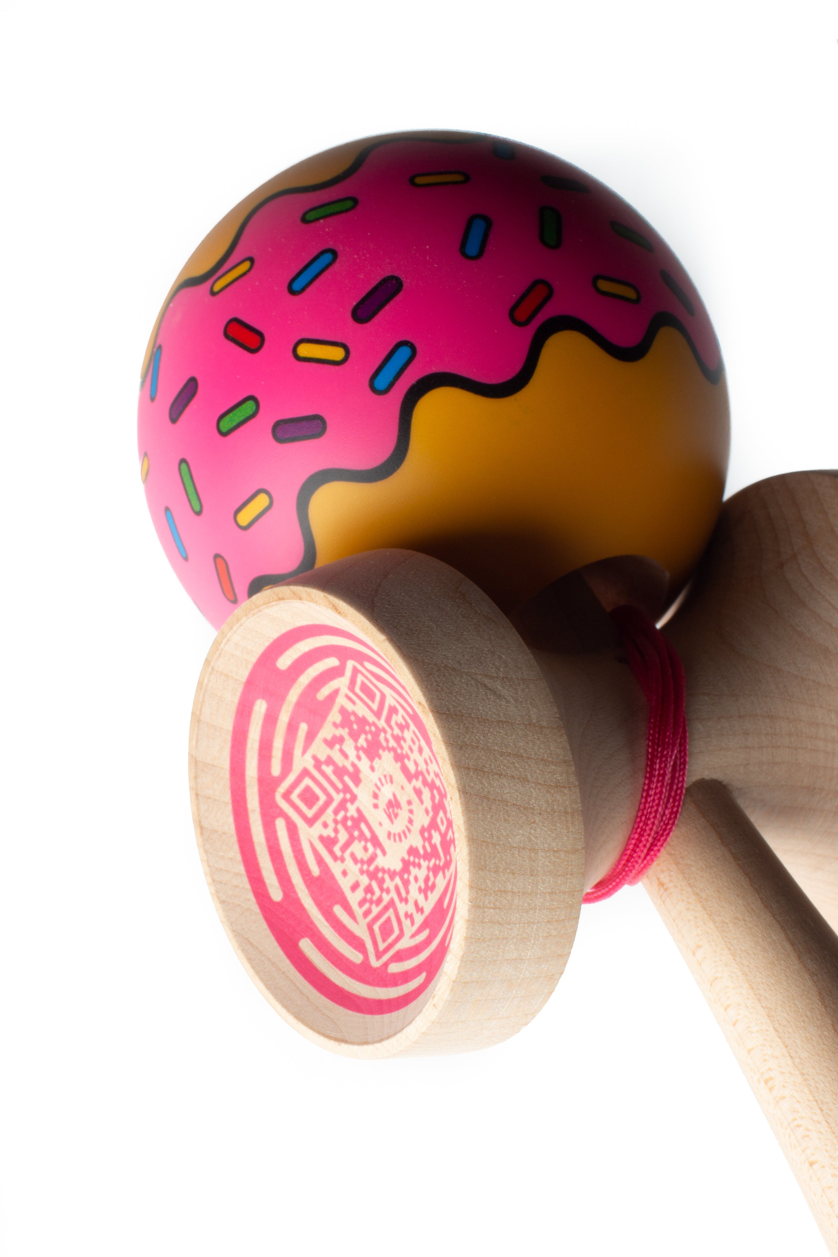 Sweets Donut Cushion Clear Kendama other angle