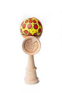 Sweets V24 Pizza Cushion Clear Kendama side on