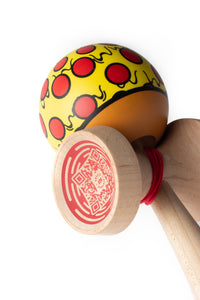 Sweets V24 Pizza Cushion Clear Kendama angle