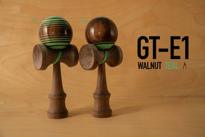 "GT-E1 WALNUT TEAL ""STITCH"""