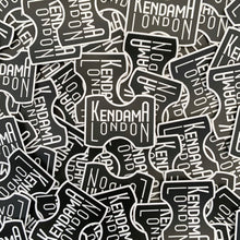 Load image into Gallery viewer, Kendama London Classic Black Sticker