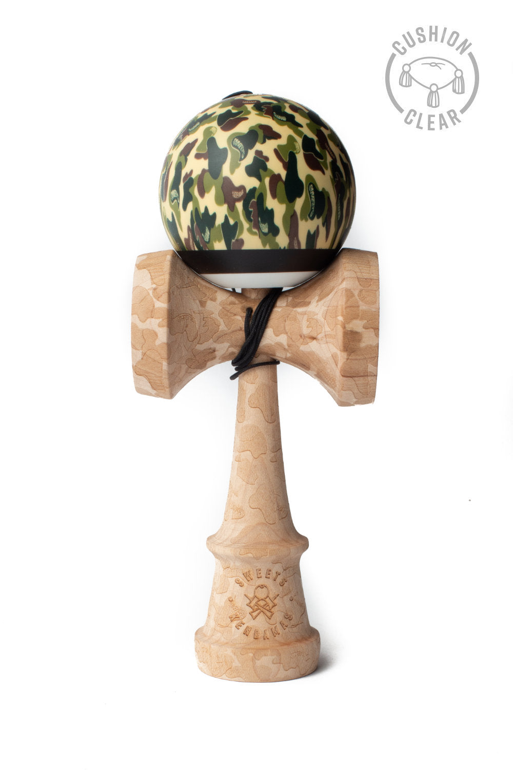 V25 Classic Camo Cushion Clear Kendama