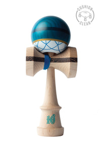 SWEETS - C. FRASER BATCH ONE: SAPPHIRE CUSHION CLEAR KENDAMA
