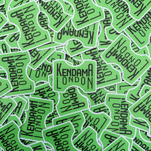 Load image into Gallery viewer, Kendama London Neon Green Sticker