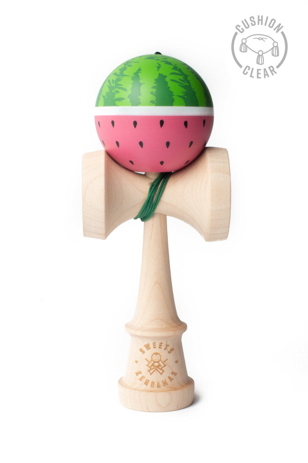 Watermelon Cushion Clear Kendama