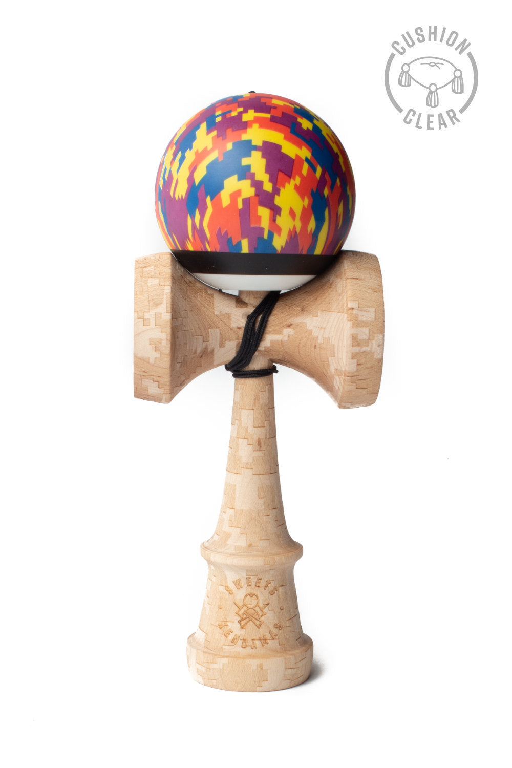 V25 Digital Sunset Cushion Clear Kendama