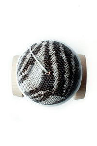 Sweezy Zebra Prime Custom Kendama top