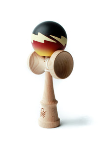 Firestorm Fade Cushion Clear Kendama