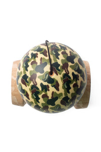 V25 Classic Camo Cushion Clear Kendama top down