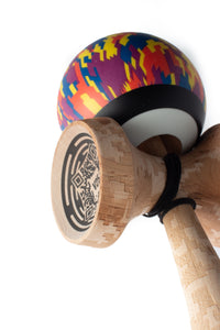 V25 Digital Sunset Cushion Clear Kendama code