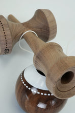 Load image into Gallery viewer, GT - Walnut TC Stitch Kendama resting