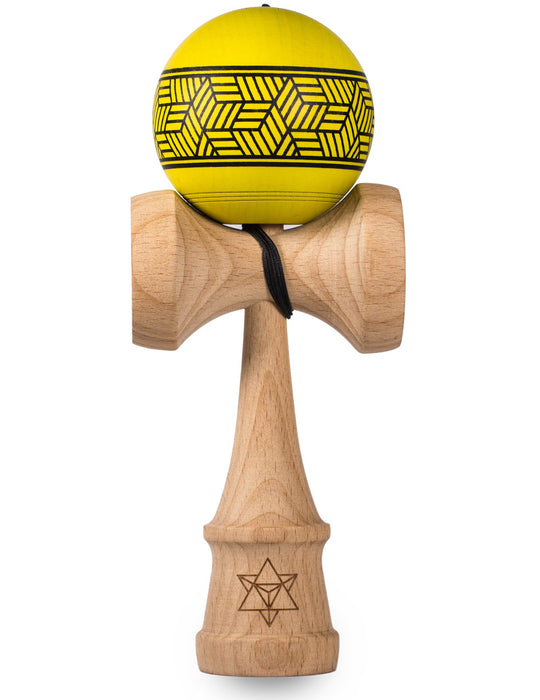Yellow Cube Kendama