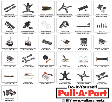 Rodeo 150 Parts