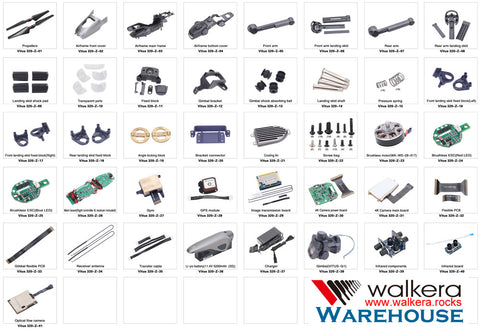 Walkera Vitus Starlight Parts