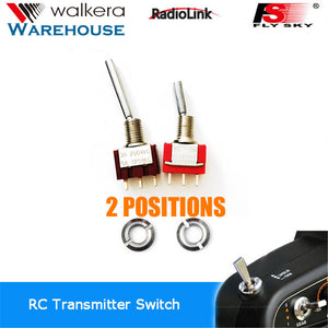 Walkera Devo Radio 2-Position Switches Set 1xLong 1xShort