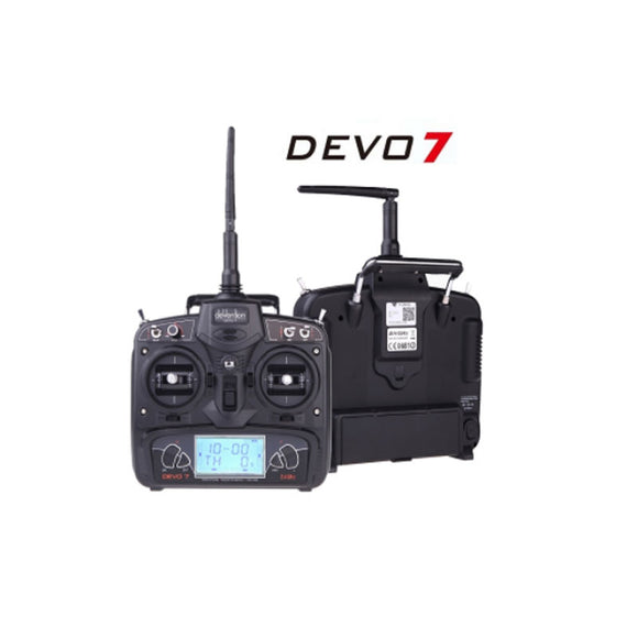 Walkera DEVO 7 2.4Ghz Digital Transmitter BNF Amazon Box