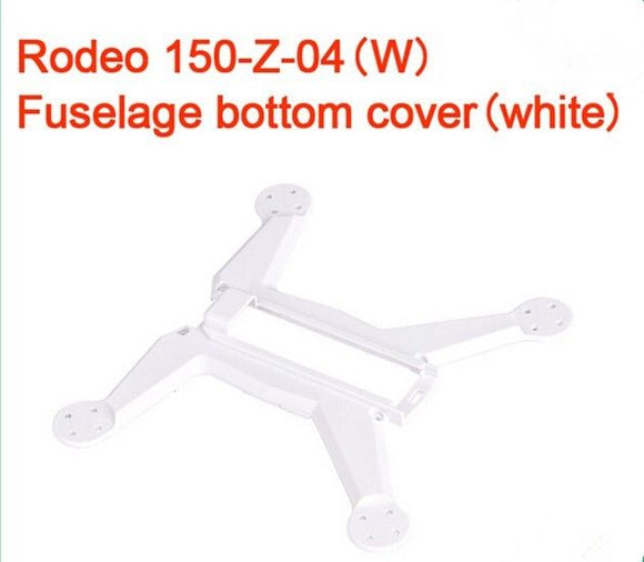 Walkera Rodeo 150 Parts Fuselage Bottom Cover White Rodeo 150-Z-04 (W)