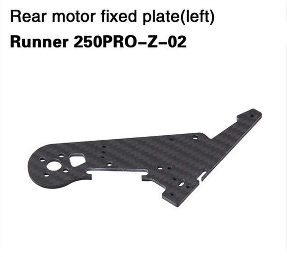 Walkera Runner 250 Pro Rear motor fixed plate left,Runner 250PRO-Z-02