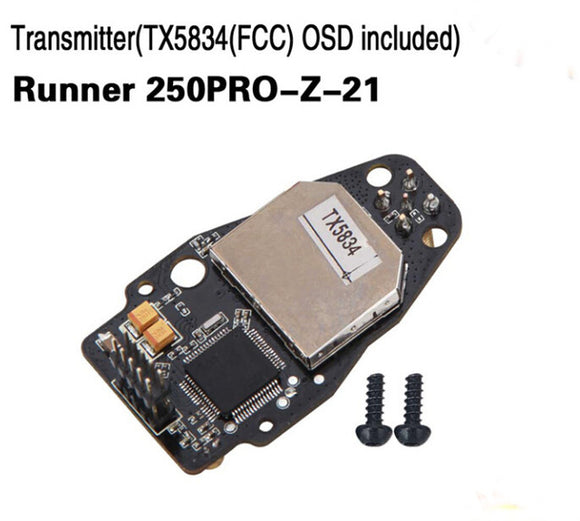 Walkera Runner 250 Pro Transmitter TX5834 FCC OSD included,Runner 250PRO-Z-21