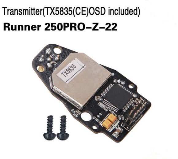 Walkera Runner 250 Pro Transmitter TX5835 CE OSD included,Runner 250PRO-Z-22