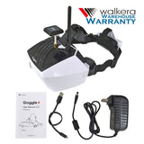 Walkera Goggle 4 FPV Goggles 5.8G 40CH 5 Inch for Racing Drones