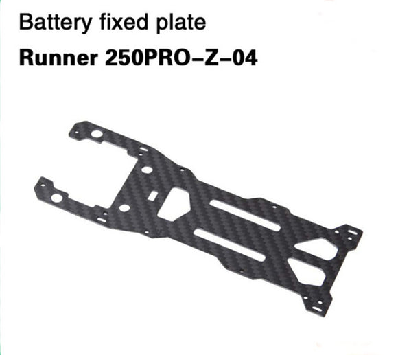 Walkera Runner 250 Pro Battery fixed plate,Runner 250PRO-Z-04