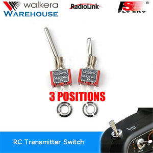 Walkera Devo Radio 3-Position Switches Set 1xLong 1xShort