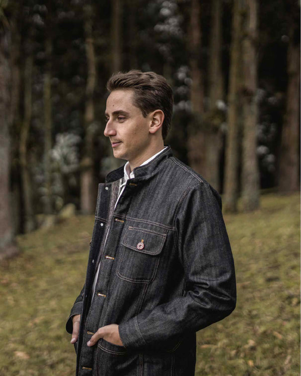 Sierra Jacket in Dark Wash