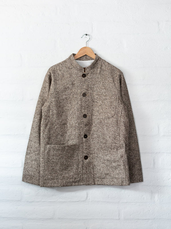 Tambo Wool Jacket in Brown