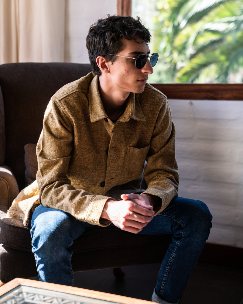 Element Overshirt in Chocolate