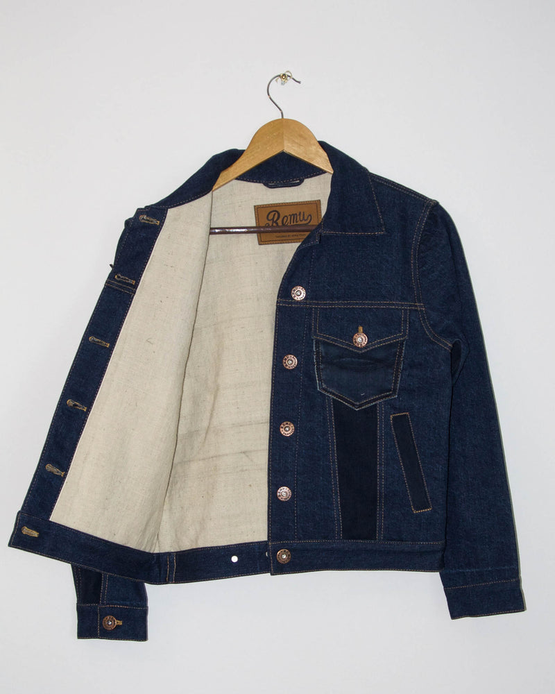 Loma Jacket in Dark Wash
