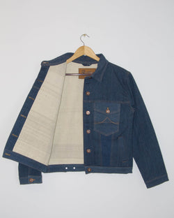 Loma Jacket  in Light Wash