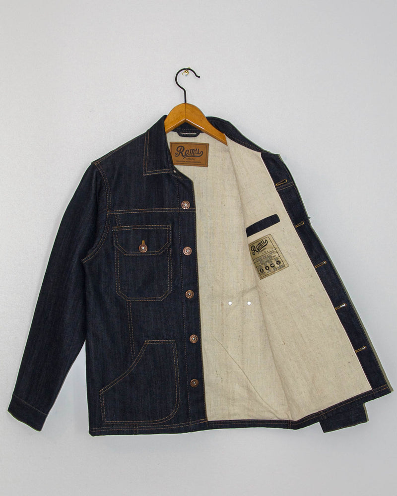 Paramo Jacket  in Dark Wash