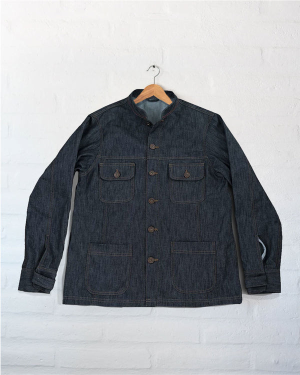 Unlined Sierra Jacket in Dark Wash
