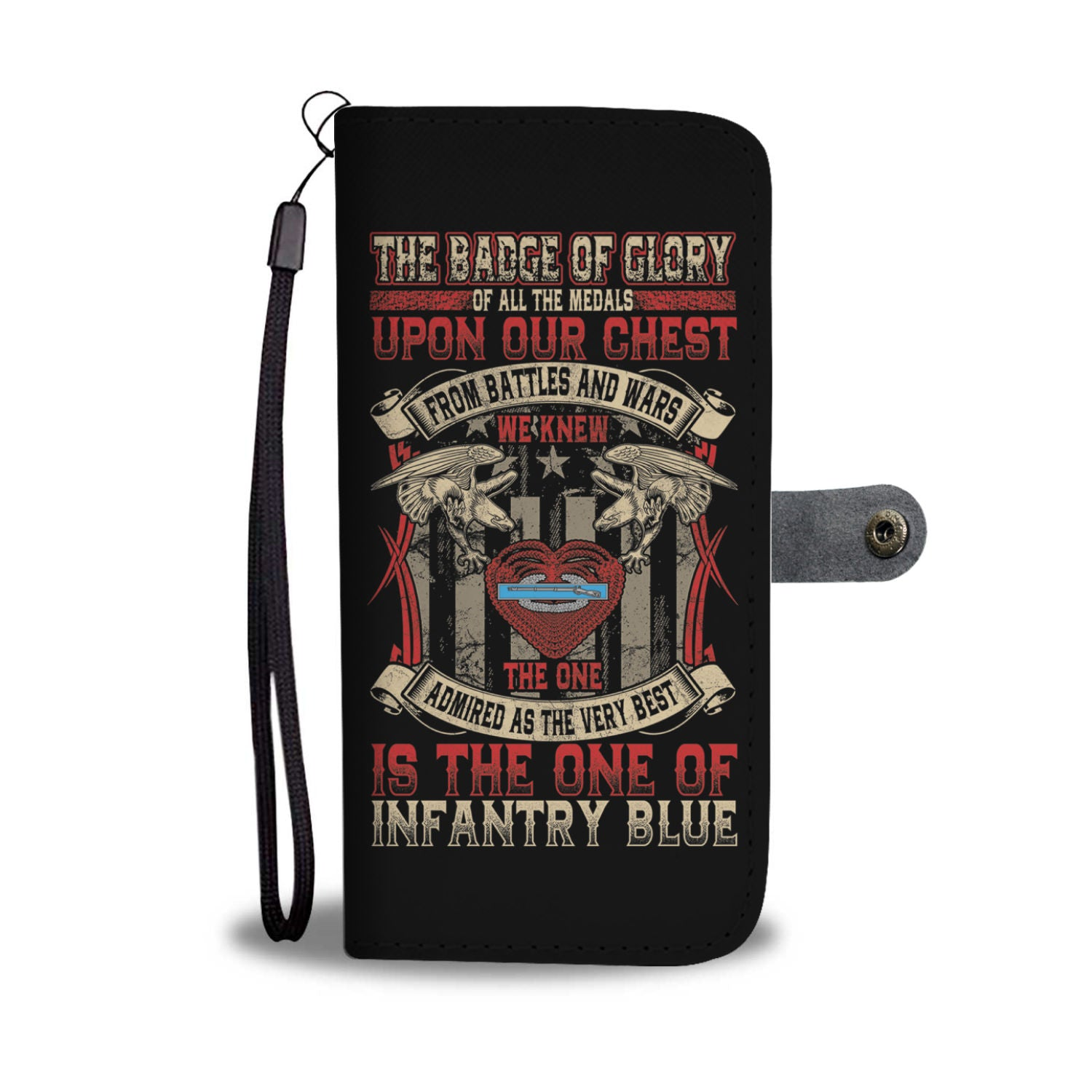 Infantry CIB Wallet Phone Case