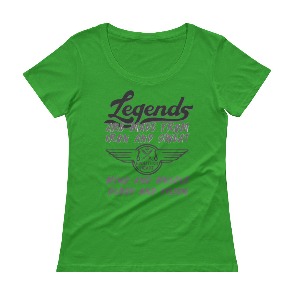 Ladies' Training Scoopneck T-Shirt