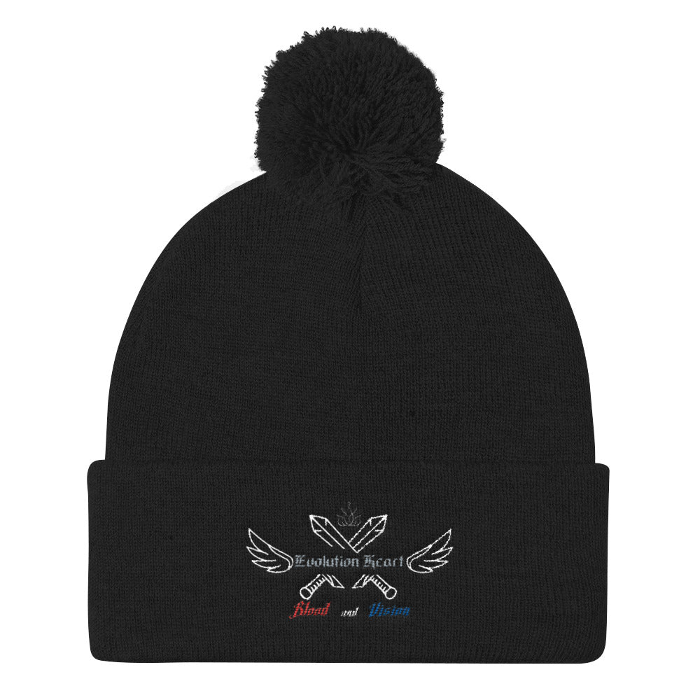 Blood and Vision Pom Pom Knit Cap