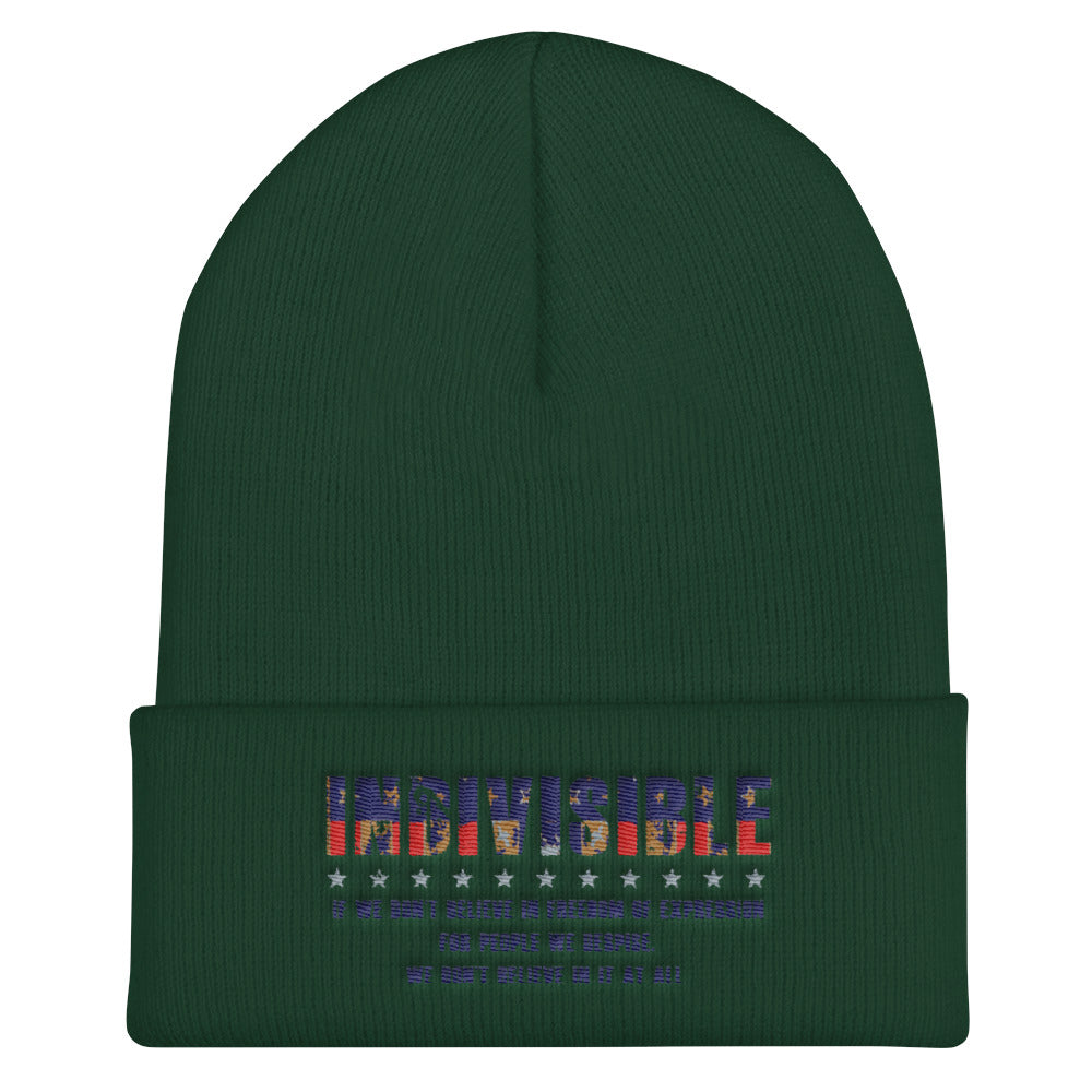 Indivisible Cuffed Beanie