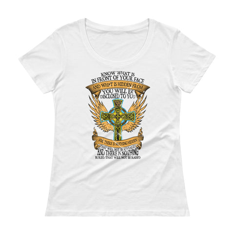 Saint Thomas  Ladies' Scoopneck T-Shirt