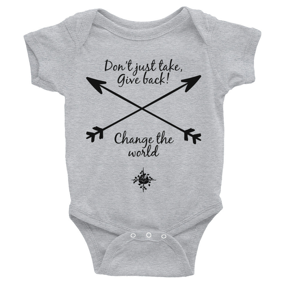 Change Infant Bodysuit
