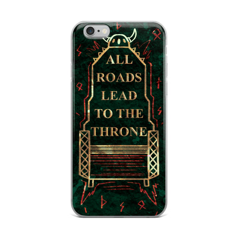 Throne iPhone Case