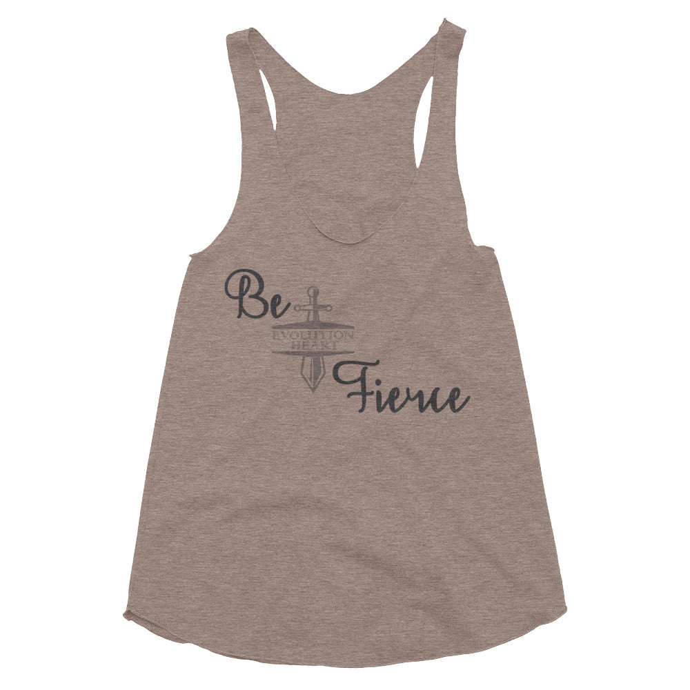Fierce Women's Tri-Blend Racerback Tank