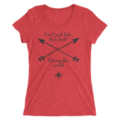 Cross Arrow Ladies' short sleeve t-shirt