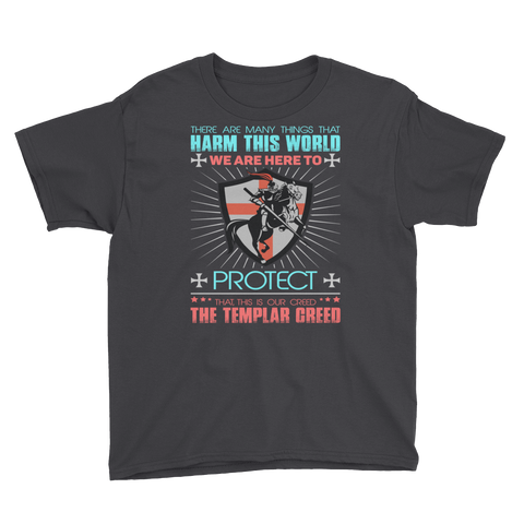 Templar Oath Youth Short Sleeve T-Shirt