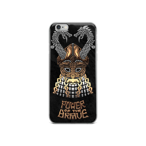 Viking Power Brave iPhone Case