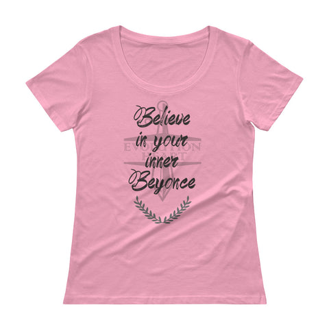 Beyonce's Ladies' Scoopneck T-Shirt
