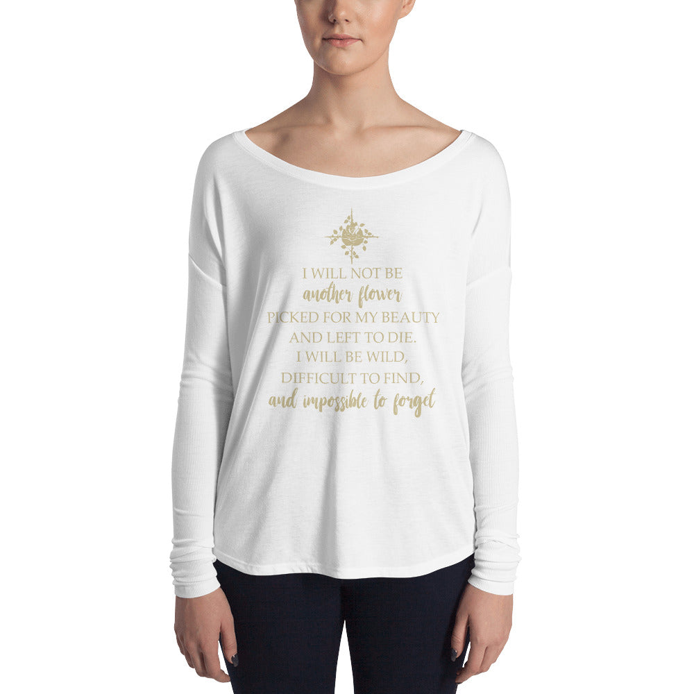 Inspirational Ladies' Long Sleeve Tee