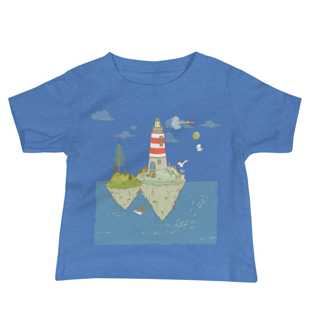 Lighthouse Inspirational Baby Jersey Short Sleeve Tee