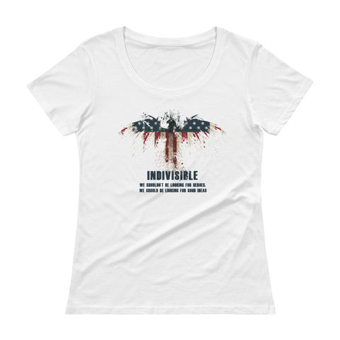 Indivisible  Ladies' Scoopneck T-Shirt