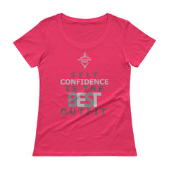 EvolutionHeart Ladies' Scoopneck T-Shirt